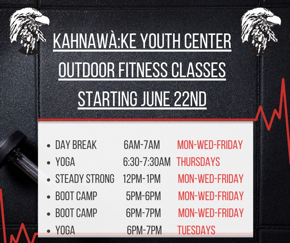 Fitness Poster june 16th